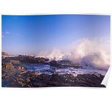 Crashing Surf Poster