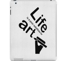 Art v Life - Yellow iPad Case/Skin