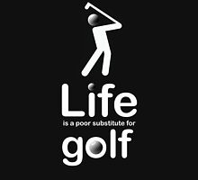 Golf v Life - White Graphic Hoodie