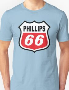 PHILLIPS 66 OIL RACING PETROLEUM  T-Shirt