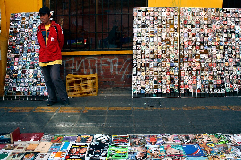 People 0394 / Bogota, Colombia by Mart Delvalle