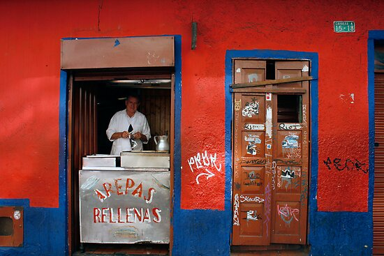 People 0723 (Bogota, Colombia) by Mart Delvalle