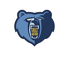 Grizz Nation Photographic Print