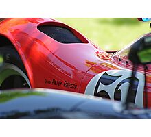 Lola Sports Concours Detail Photographic Print