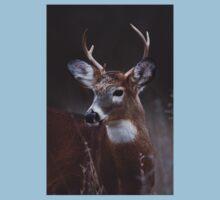 Deer boy - White-tailed Deer Kids Tee
