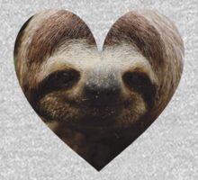 Sloth Love One Piece - Long Sleeve