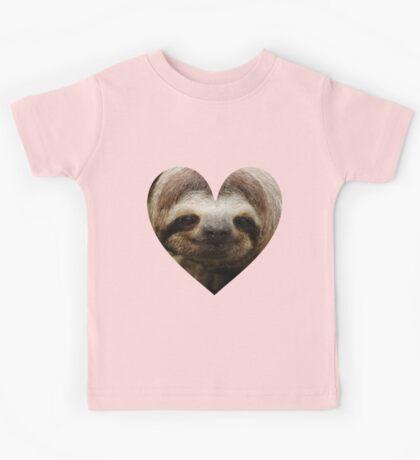 Sloth Love Kids Tee