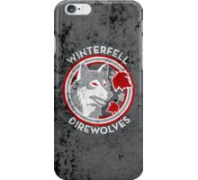 Winterfell Direwolves (Retro Distressed Variant) iPhone Case/Skin