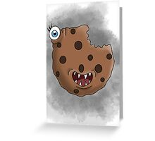 Freaky food item: Cookie Greeting Card