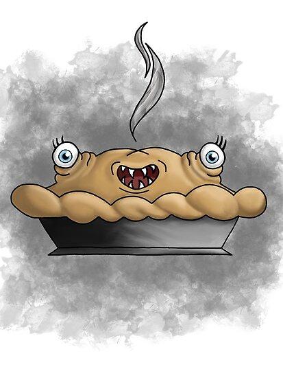 Freaky food item: Pie by missthing