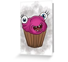 Freaky food item: Cupcake Greeting Card