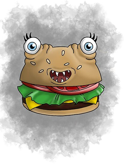 Freaky food item: Burger by missthing
