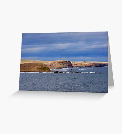 Coastline Greeting Card