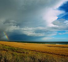 Storm passes over Mordialloc by Anika Warren-Smith