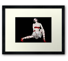 Simply Red - Self Portrait Framed Print