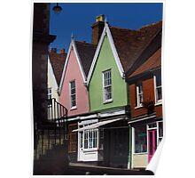 Market Place, Woodbridge, Suffolk Poster