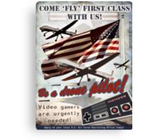 Be a Drone Pilot! Canvas Print