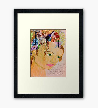 Imagination Framed Print