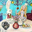 Mad Hatters Tea Party by Lorna Gerard