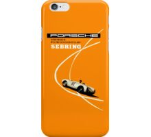 Retro sebring race car iPhone case iPhone Case/Skin