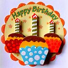 Happy Birthday Muffins by ©The Creative  Minds