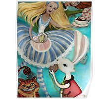 Alice and Friends Poster