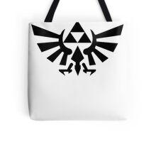 Zelda - Triforce (Black) Tote Bag
