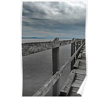 Grey Jetty Poster