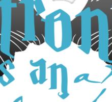 Castiel Patronus Sticker