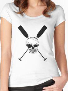 Dragonboat Canoe Skullhead Women's Fitted Scoop T-Shirt