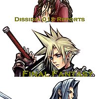 1ST ANNIVERSARY OF DISSIDIA 012 REPORTS 1 by FFSteF09