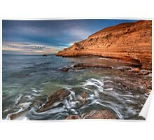 Gull Rock Port Willunga South Oz Poster