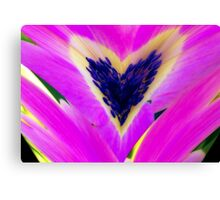 Floral Heart Canvas Print