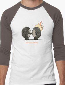 Wish you were hedgehog Men's Baseball ¾ T-Shirt