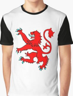 Scottish Rampant Lion Graphic T-Shirt