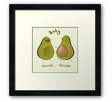 Avocado Baby Framed Print
