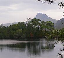 Highland loch by lezvee