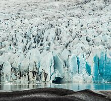 Glacial Shelf by Mel Sinclair
