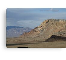 Marbled Mountain,Black Rock Desert,Gerlach NV USA Canvas Print