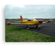 Belgian Air Force SF.260 Canvas Print