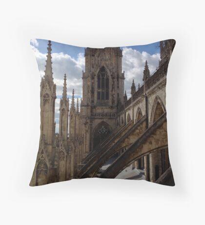 Medieval Minster Throw Pillow