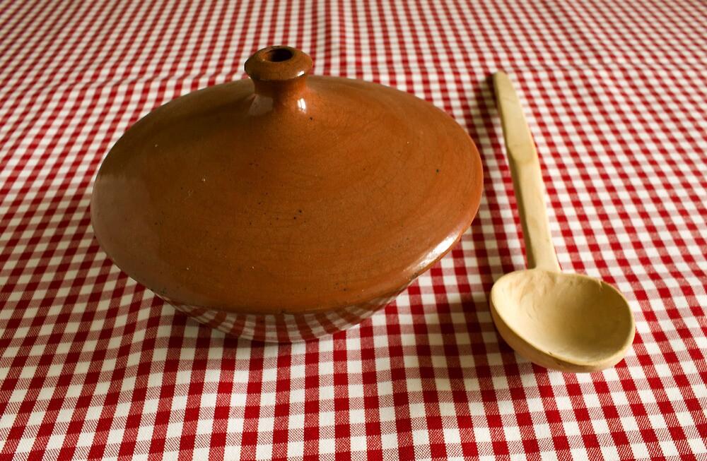 pottery bowl by slavikostadinov