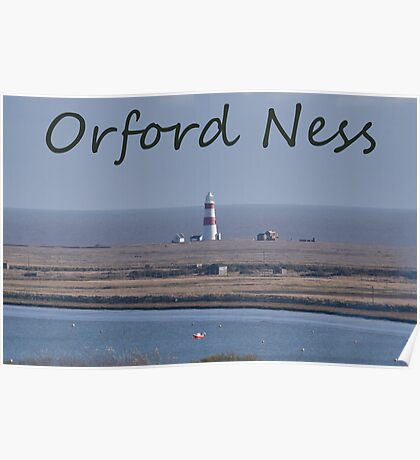 Orford Ness Poster