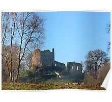 Hawarden Castle N.Wales Poster