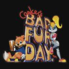 Conker's Bad Fur Day N64 Retro nintendo game fan shirt by hangman3d