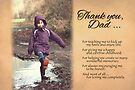 Father's Day - Great Childhood (Card) by Tracy Friesen