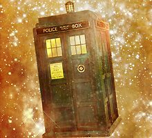 A Police Box in Space by RetroPops