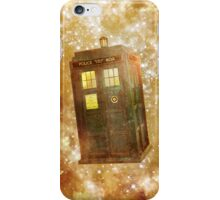 A Police Box in Space iPhone Case/Skin