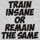 Train Insane Or Remain The Same by 1453k