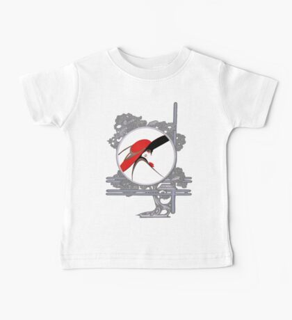 Red Lady Baby Tee